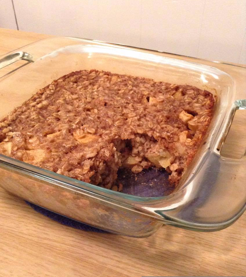 Dairy-Free Cinnamon Apple Bake